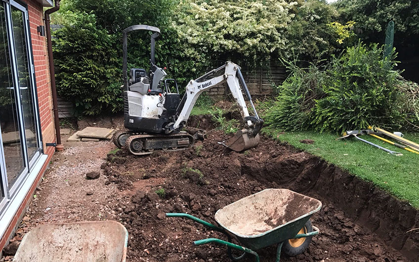 Residential Excavation Wolverhampton
